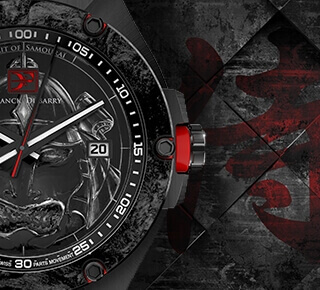 LIMITED EDITION OF 100 TIMEPIECES