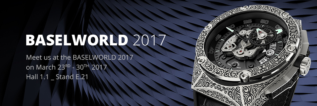 Franck Dubarry BaselWorld 2017